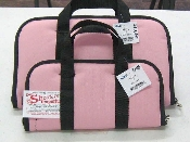 KNJ - PRETTY IN PINK Pistol-Gun Case Black Accents