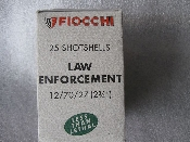 FIOCCHI Law Enforcement Rubber Bullets 12-70-27