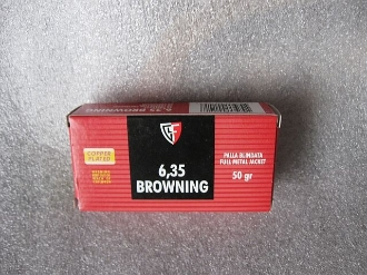 FIOCCHI AMMUNITION - 6,35 Browning - 25 Auto FMJ