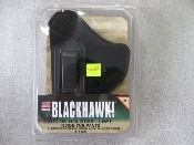 "BLACKHAWK HOLSTER (LEFT) 2-3"" SMALL/MEDIUM FRAME"