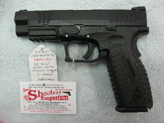 SPRINGFIELD XDM 4.5 Inch BARREL - 40SW - NEW