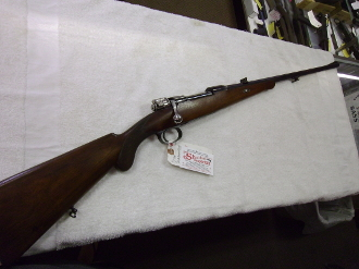 BURGSMULLER AND SONS- MAUSER 98 SPORTER- 9X57MM -USED