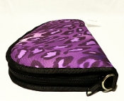 KNJ Medium PISTOL CASE RUG, PUR LEOPARD
