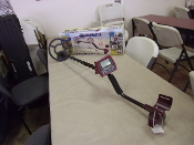 WHITES COINMASTER METAL DETECTOR