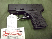 (bs) SPRINGFIELD XDS 9MM W/ 2  7RND MGS, HOLSTER