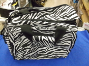 (bs) ROMA RANGE BAG, ZEBRA