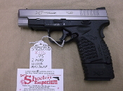 (bs) SPRINGFIELD XDS .45 W/ 2MAGS, HOLSTER, MAG POUCH