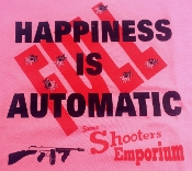 """HAPPINESS IS AUTOMATIC"" T-SHIRT"