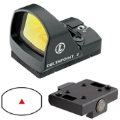 LEUPOLD DELTAPOINT REFLEX SIGHT CROSS SLOT MOUNT MATTE 7.5 MOA