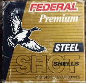 FEDERAL PREMIUM STEEL SHOTSHELLS 20 GA
