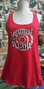 """I SHOOT LIKE A GIRL"" TANKTOP"