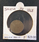 1868-F-VF SHIELD S4