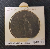 1911-3 GREAT BRITAIN