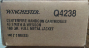 WINCHESTER 40 S&W 500 ROUNDS