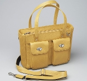 GUN TOTE'N MAMAS CONCEALMENT PURSE GTM-86 YELLOW