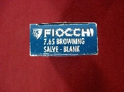 FIOCCHI - 7.65 BROWNING - BLANKS