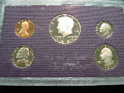 1985 US MINT PROOF SET