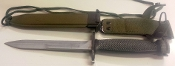CARBINE RIFLE BAYONET WITH SCABBARD