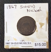 1867-G-4 SHIELD NICKEL