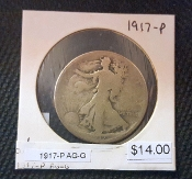 1917-P AG G WALKING LIBERTY