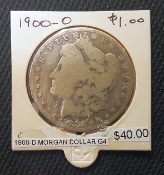 1900-D G4 MORGAN DOLLAR