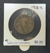 1928-S VG-F STANDING LIBERTY