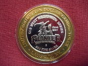 Pioneer Hotel & Gaming Hall Limited Edition $10 Gaming Token