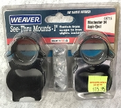 Weaver See-Thru Mounts