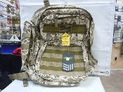 East West Camo Backpack w/ Molle (expandable)