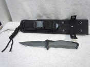 Buck Knives Short Nighthawk Tactical Fixed Blade / Molle Sheath